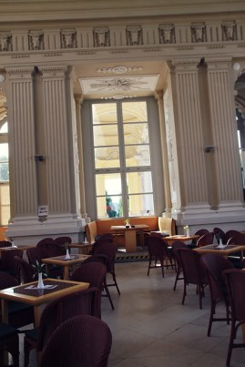 inside gloriette cafe