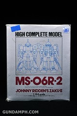 HCM MS-06R-2 Johnny Ridden's Zaku-II (144 scale) 1984 make (1)