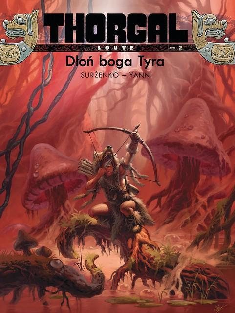 Thorgal Louve 2 Dłoń boga Tyra
