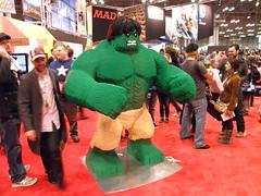 LEGO Booth Statue Hulk