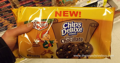 Keebler Chips Deluxe Triple Chocolate