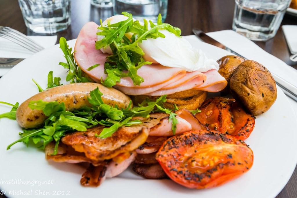 Weir Café - big breakfast