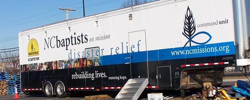 Hurricane Sandy: NC Baptists Command Unit