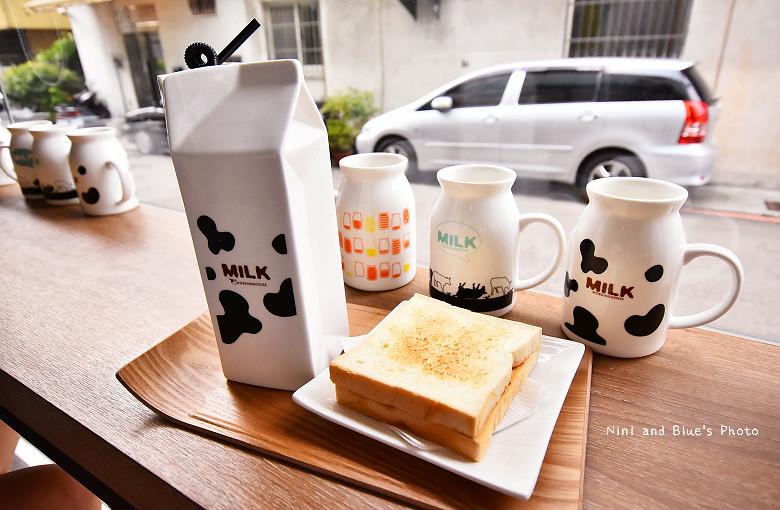 台中早午餐原三十木瓜牛奶10