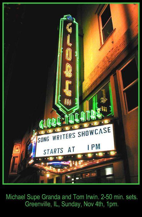 Globe Theatre 11-4-12