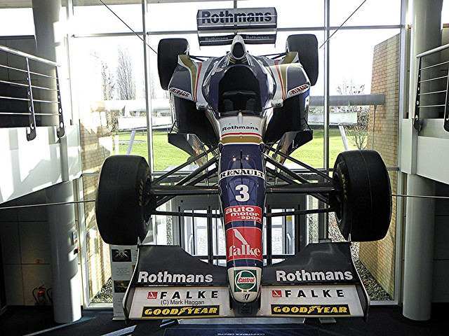 Jacque Villeneuve's FW19 from the 1997 season