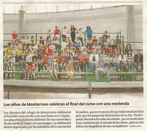 Festa Fin de Curso 2011-2012