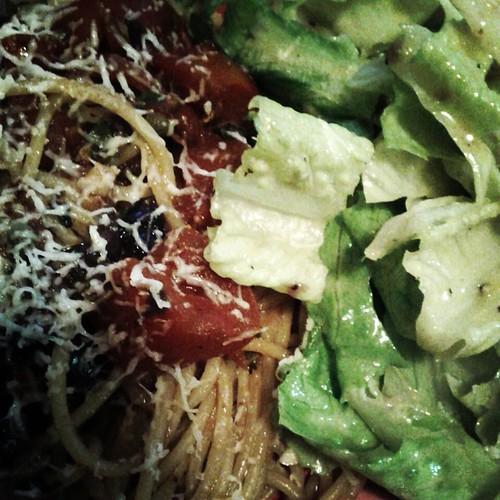 Putanesca, Caesar Salad