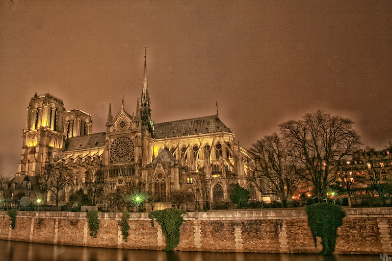 Paris by night - Notre Dame de Paris