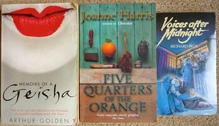 three more books