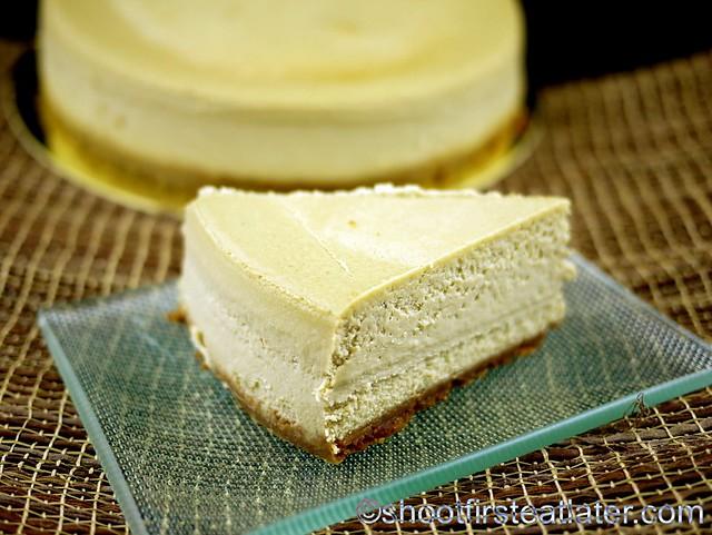 Green Tea Cheesecake - Cheesecakes by Guy-003