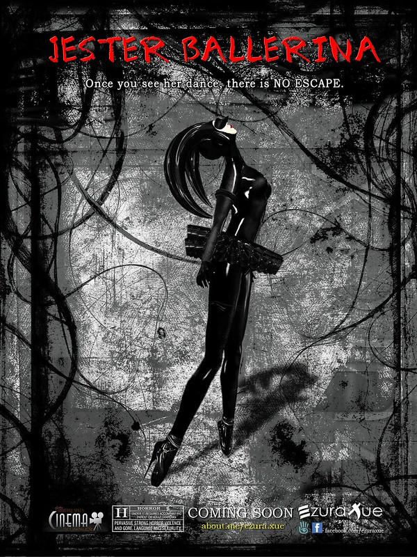 ezura + Jester Latex Ballerina - Promo Ads