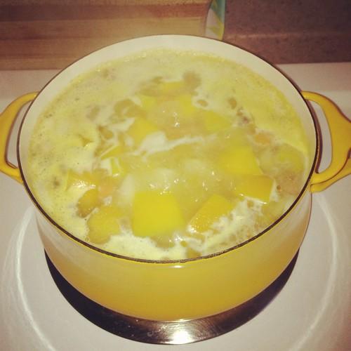 buttercup soup