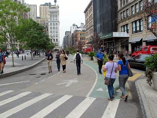 Union Square Bike Lane