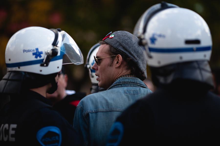 22 octobre : En marche pour l'AMNISTIE et le droit de manifester [Photos Thien V]