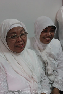 """Dok Mami"" is what we called her, the cook in the family (left) with my mother in law (right)"