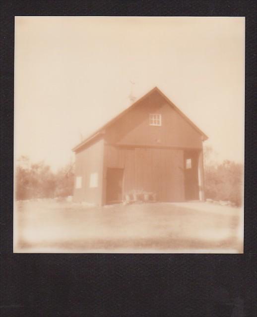 Main Street Barn (Polaroid)