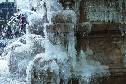 Cold in Bryant Park