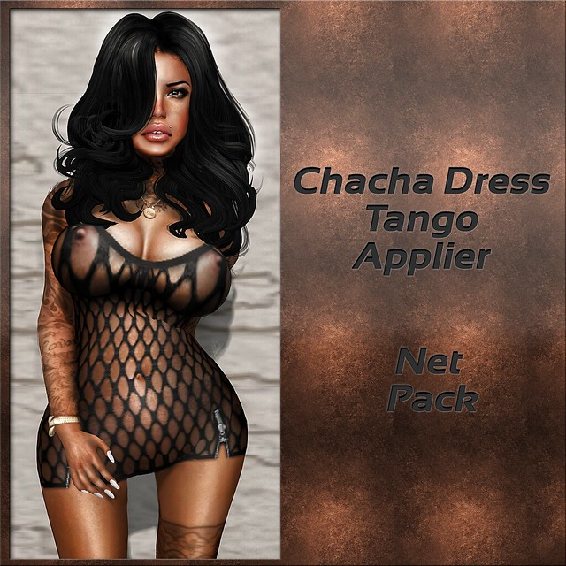 Chacha Dress Tango Applier