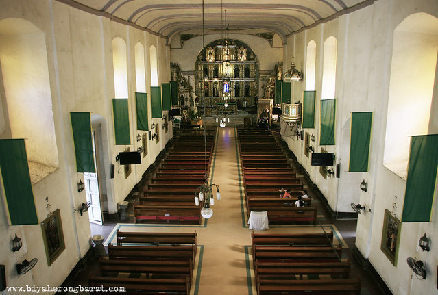 Inside Tanay Church