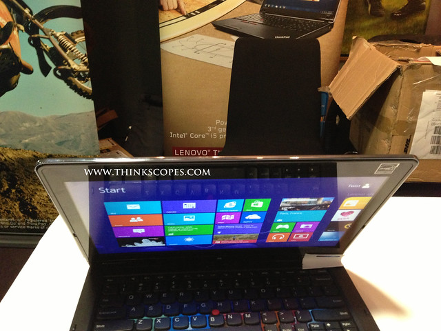 Lenovo ThinkPad Twist Edge