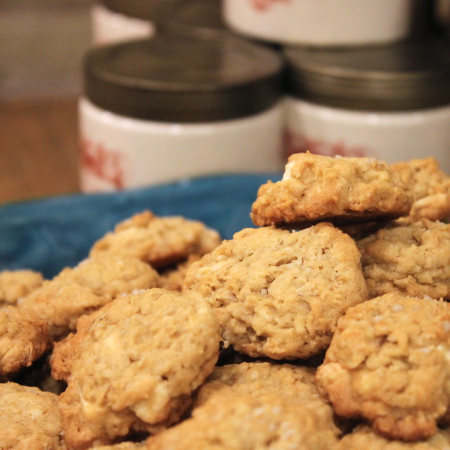 Tasting Tuesdays: Salted Vanilla Chip Oatmeal Cookies