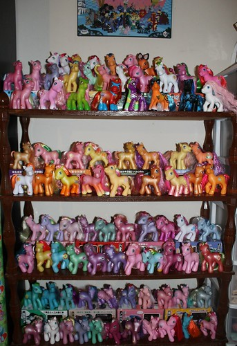 Updated G3 Pony Display   closeups of shelves in comments