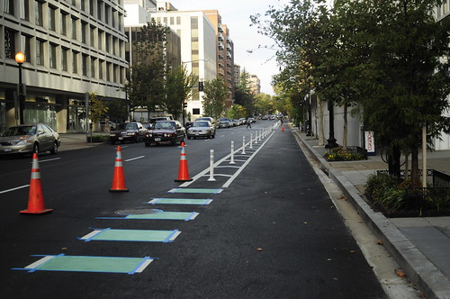 L Street Cycle Track Project