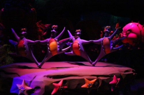 Under the Sea ~ Journey of the Little Mermaid ride in New Fantasyland