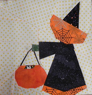 Sunbonnet Sue Witch