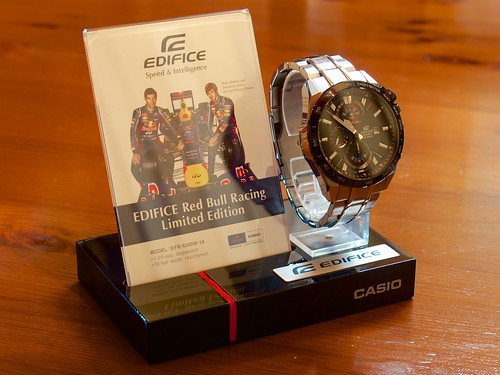 EDIFICE Red Bull Racing Limited Edition Chronograph