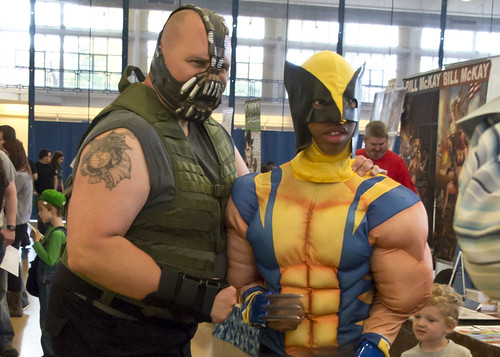 Bane and Wolverine