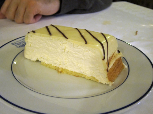 Tarta de Queso con Chocolate Blanco
