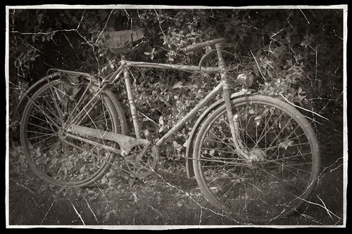 PAF-rusty-bicycle-old-photo-bw-w