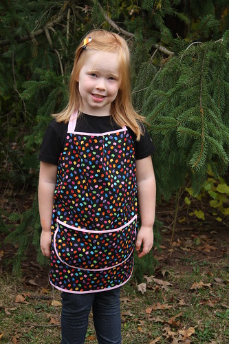 Meow! An Apron for Tabby