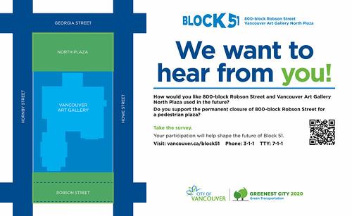 Block 51 Survey Poster