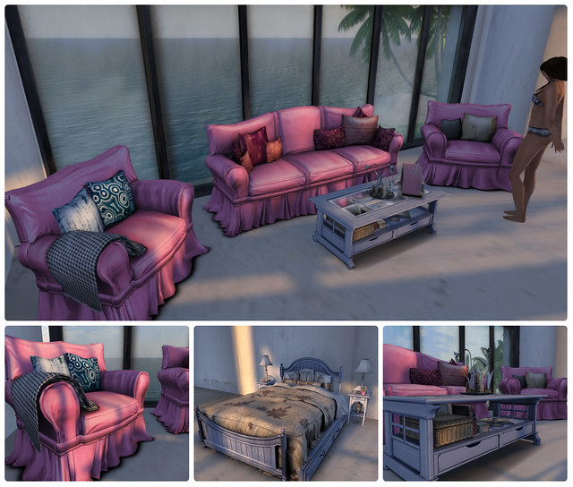 laq furniture collage