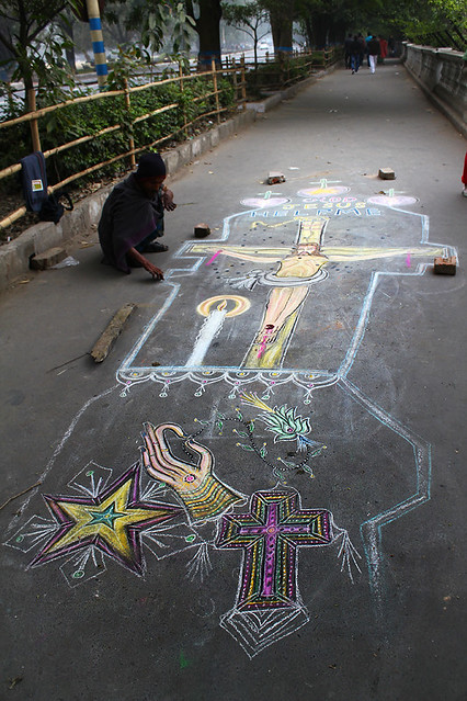 A street painter