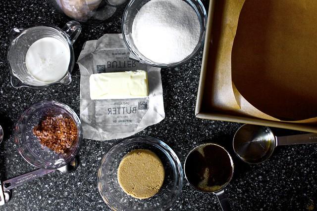 cinnamon, sea salt, sugars, cream, butter