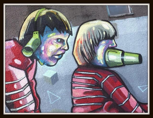 Cathays Street Art and Graffiti