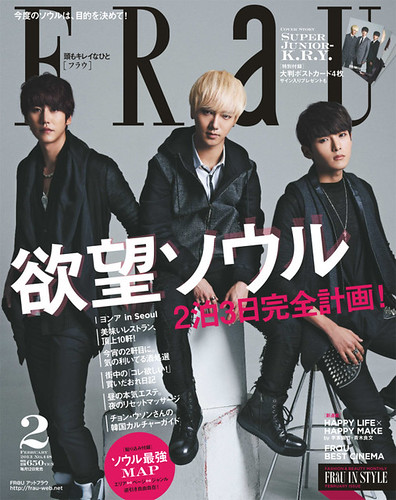 FRAU MAGAZINE OFFICIAL UPDATE FOR FEBRUARY 2013 - SJ KRY by stormmusic325