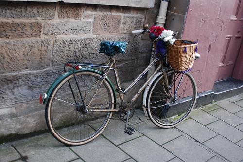 Leopard print bike