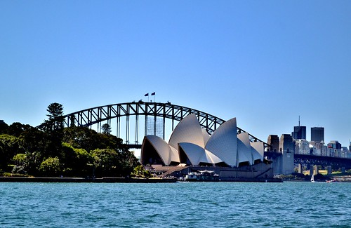 Views Of Sydney Opera House by Angela Seager