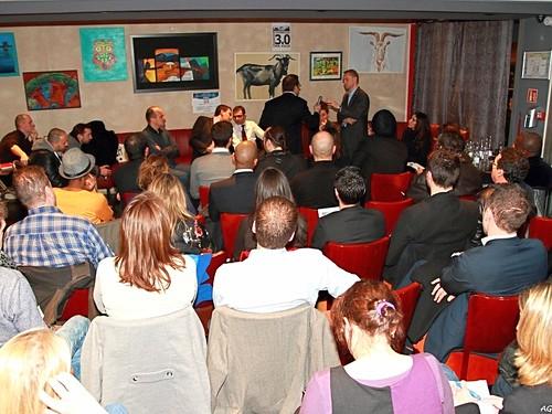 """Salle comble à Courbevoie pour la réunion du Club """"Courbevoie 3.0"""" (fondé par Arash Derambarsh) le 29 janvier 2013 by Arash Derambarsh"""