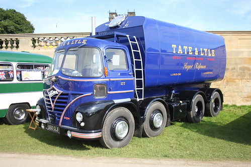 Foden S21 Spaceship Sputnik Sugar Tanker 868GLB  Chatsworth House, Derbyshire