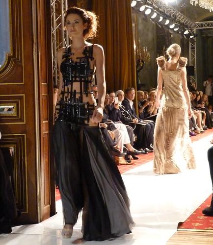 Claudine Ivari SS13 sheer gown