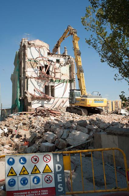 Demolicion edificio ferroviarios junto PIAC_3