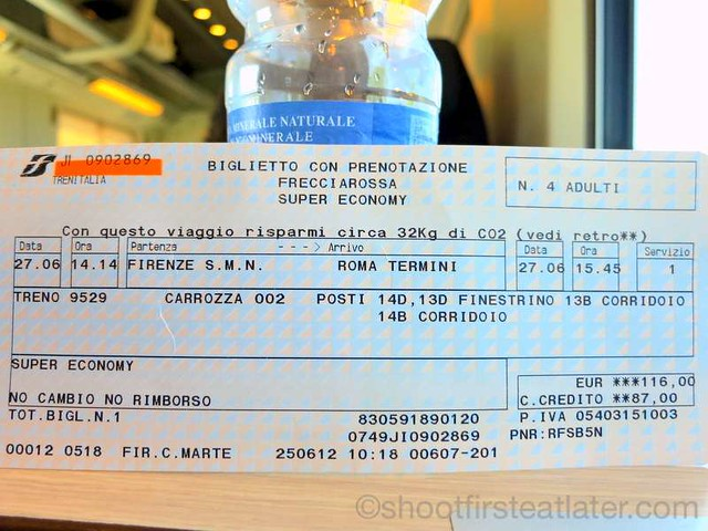 train from Florence to Rome-008