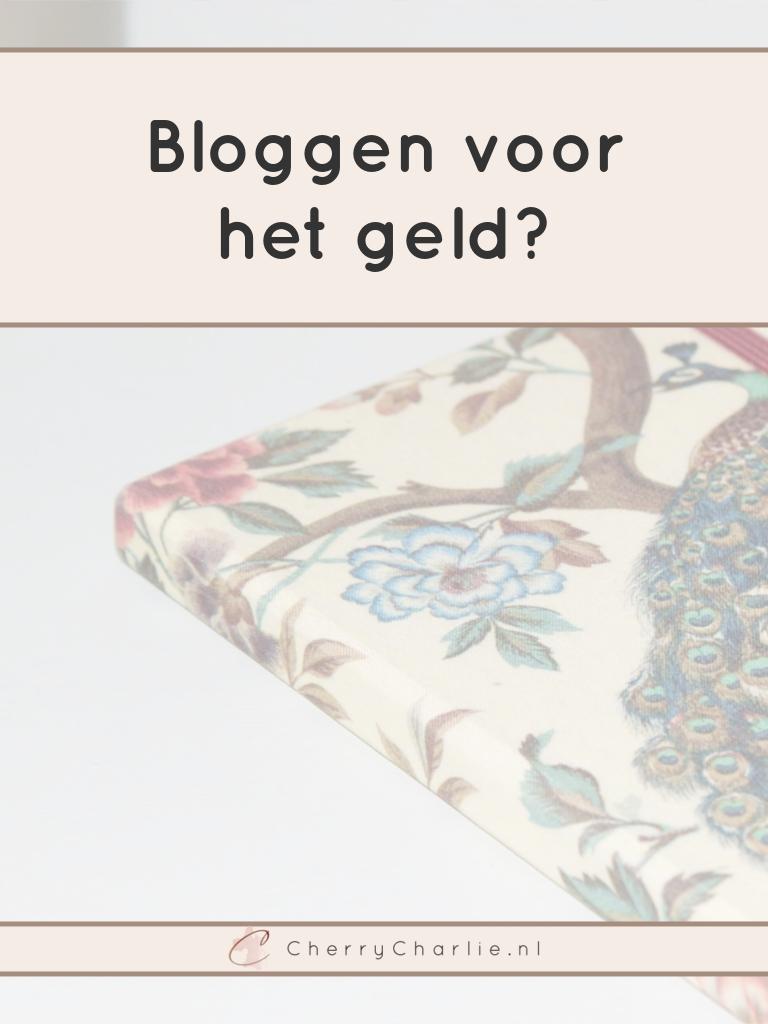 Bloggen voor het geld? Een serieuze overdenking over de manier waarop Nederlandse bloggers elkaar zien en hoe je van bloggen een winstgevende zaak maakt. • CherryCharlie.nl