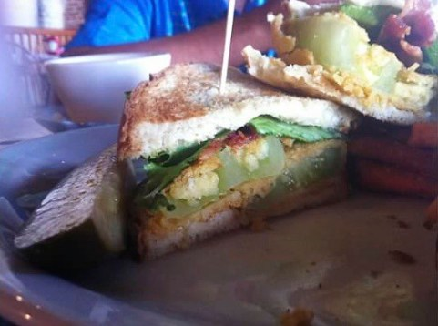 Cotton Exchange Tavern & Restaurant Fried Green Tomato BLT